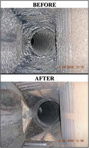Before and after chimney sweep